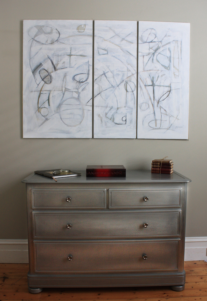 Dresser in Architectural Tin  finish by Groth & Sons