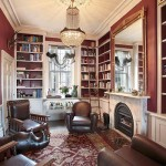 Residential library cabinetery